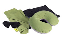 Cocoon Travel Set Ultralight wasabi/black